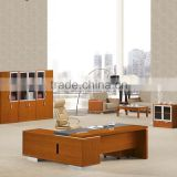2016 Spanish style office desk set with melamine wood table for manager office (SZ-OD320)