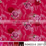 Changxing 100% Polyester peach skined fabric for bed linen fabric/extra wide printed fabric for bed linen and hometexile fabric