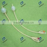 3 way standard foley catheter latex material