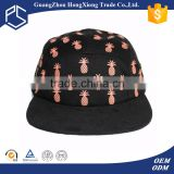 Fashionable design overseas hat online cheap flat cap pineapple hat