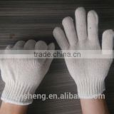 Gloveless sense of touch working cotton knitted safety gloves