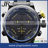 hot sale in European men watch PayPal stainless steel Japan movement watch vertical watch