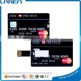8GB Black HSBC Bank Card Design USB Flash Disk