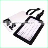 2016 rubber travel tag for business gift