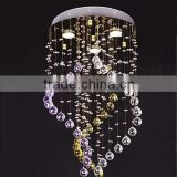 Modern Contemporary Style Lead Crystal Chandelier Hanging Lamp Light Lighting Fixtrure CZ8015/3
