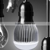 50w E40 LED bulb with AC 85~265V, more than 85Lm/w, aluminum heat sink, glare proof frost PC covering