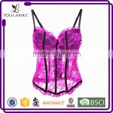 High-End Hot Design Top Quality Elegant Ladies Fashion Lace Up Stylish Woman New Style Hot Sex Sexy Corset