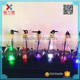 home decoration beautiful colorful shining lamp bulb shape glass juice liquid drinking bottle                                                                         Quality Choice