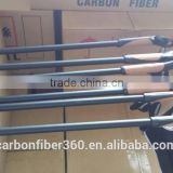 Hot sellling Light weight carbon fiber skiing poles, cross country ski pole