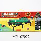 Mini Plastic Snooker Pool Table Billiard Table Set Toy