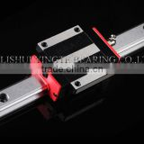 High quality Taiwan linear guide rail for cnc laser cutting machine with low price and made in lishui bearings factory