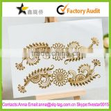 2015 Best price professional custom gold tattoo sticker                                                                         Quality Choice