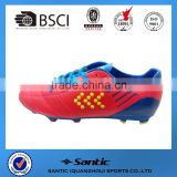 2016 Men outdoor sport shoes for football use, grade original quality soccer boots new style outdoor rugby SS4007