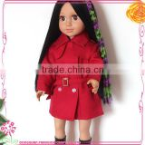 18 inch Dolls accessories colorful doll wigs
