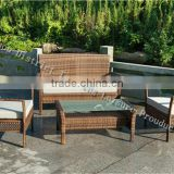 2014 poly rattan garden furniture/cheap wicker sofa / royal furniture sofa set/wicker basket