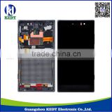 Original LCD Assembly for Nokia Lumia 830 LCD for Lumia 830 Touch Screen Digitizer with Frame