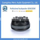 72mm 110W powered Speaker Tweeter Titanium Compression Sub woofer Driver with 108.5dB sensitivity