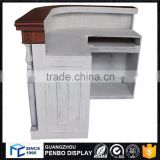 wholesale standard size luxury beauty cheap small white black curved office salon reception desk                                                                         Quality Choice                                                     Most Popular