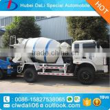 2016 new 4*2 FOTON concrete mixer truck for sale