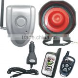 Wireless car alarm system