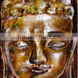 new-0060 (handmade buddha oil painting,abstract,modern art,decoration,canvas oil painting)