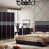 factory direct sale stylish adult bedroom set furniture with competitive price in foshan