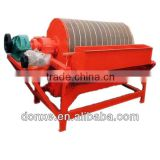 Wet Magnetic Separator for Magnetite, Magnetic Pyrite, Baking ore and titanium of iron ore