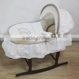 baby sleeping basket embroidery baby carry moses basket moses basket stand baby wicker moses basket