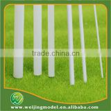ABS plastic white model rod for diameter 1mm and 50cm rod stick