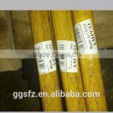 Colorful PVC coated wooden broom handle/stick, wooden handle/stick for broom,fancy broom handles/sticks