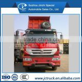 SINO HOWO Yellow River 4X2 used tipper trucks/dump trucks