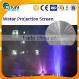 Stainless Steel Water Projection Screen And Laser Show For Outdoor                                                                         Quality Choice