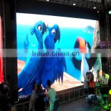 40X9 inch full-color RGB LED sign wireless and usb programmable rolling information P3 indoor led display screen