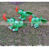 fire-breathing blow up inflatable dragon kids toys