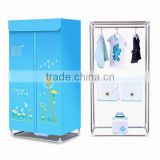 Latest electric cloth dryer household mini portable hot air clothes dryer with PTC heating element