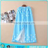 100% microfiber printing beach towel dress reactive printing lady microfiber towel dress