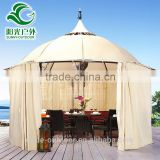 Factory manufacturer iron and waterproof fabric+curtain gazebo tents in divisoria manila