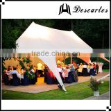 2016 top sale double star shaped 100 person carnival tents for festival celebration