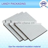 heavy duty XPE/EPE foam insulation board with sticker/heat insulation for building material