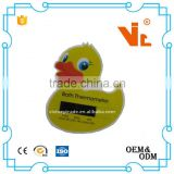 V-DT04-03 LCD display baby bath tub duck thermometer water thermometer