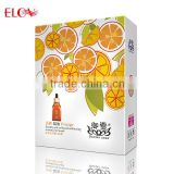 Orange Double Anti-yellowish whitening Essential Oil Facial Mask
