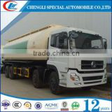 40cubic meters Dongfeng flyash cement,coal ash,lime powder and mineral flour tank truck bulk cement power tanker Truck