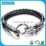 Alibaba Website Leather Gothic Bracelet Wholesale