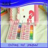 18 color oil pastels acrylic fabric paint,acrylic color paint color for kids(back to shool ,promotion)