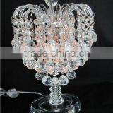 modern crystal chandelier floor lamp with electrical outlet for wedding gift (R-1113