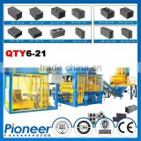 QTY6-21German Zenith 913 Concrete Block Making Machine