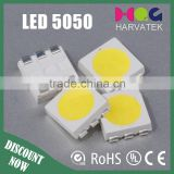 Epistar 3 Chips 20-24lm PLCC-6 SMD LED 5050 White