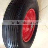 4.00-8 small pu foam wagon wheels and axle