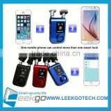 100% Original LEEKGO Factory wireless bicycle anti theft alarm lock
