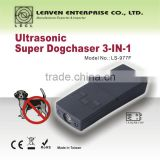 battery powered handheld portable high quality ultrasonic dog chaser cat repeller